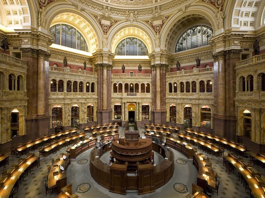 bibliotecas - congresso washington