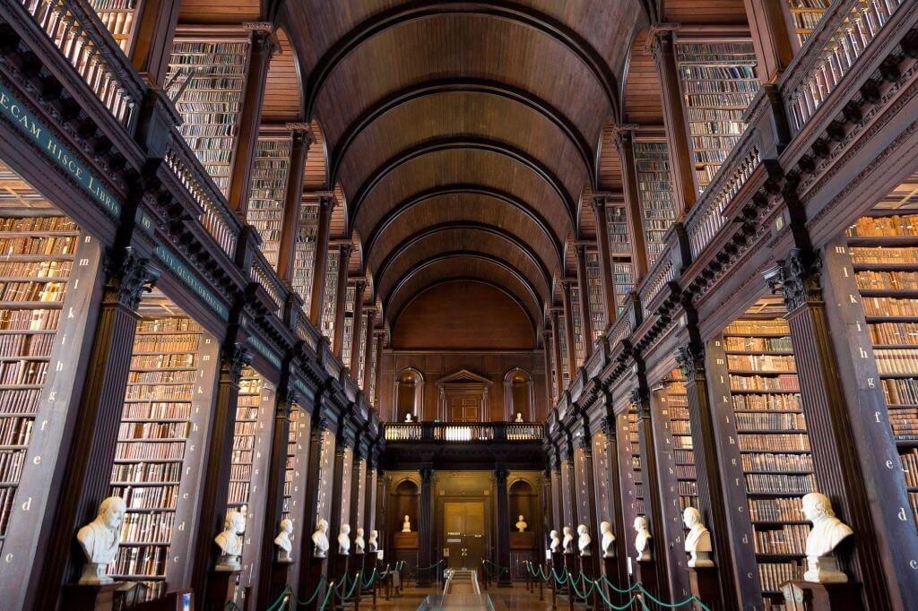 bibliotecas - trinity college dublin