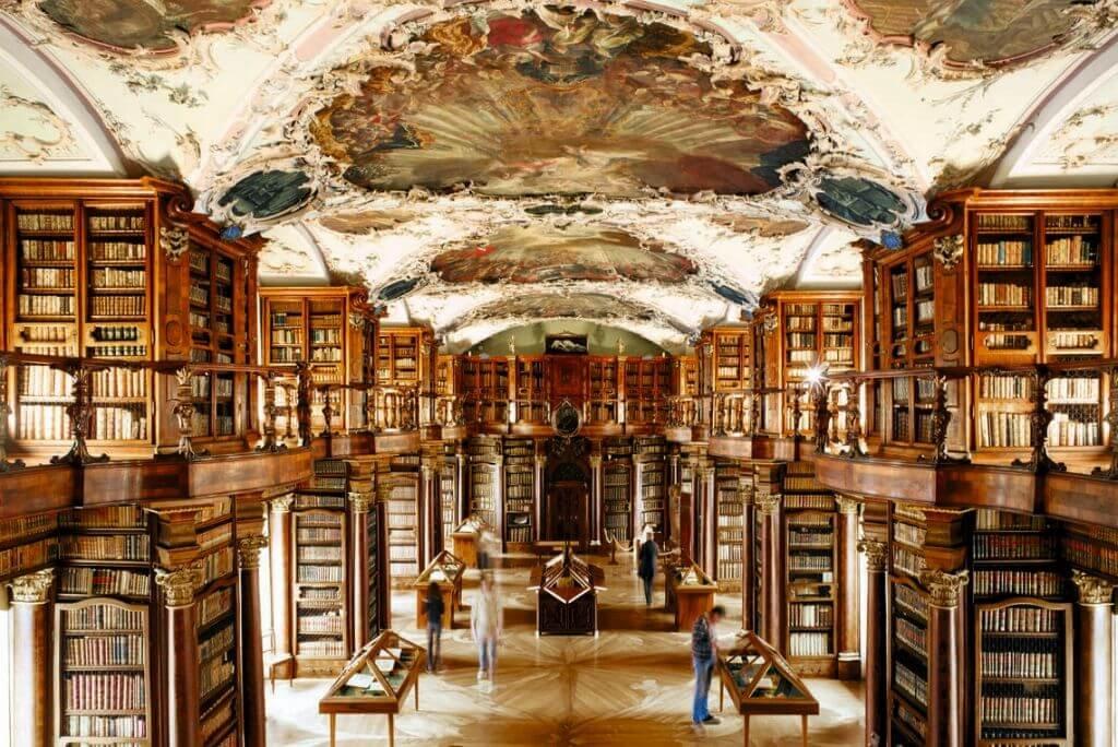 bibliotecas - abadia st. gallen