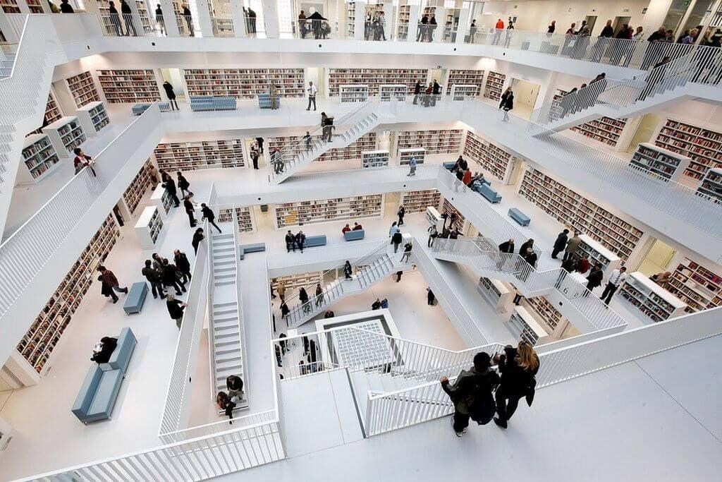 bibliotecas - stuttgart