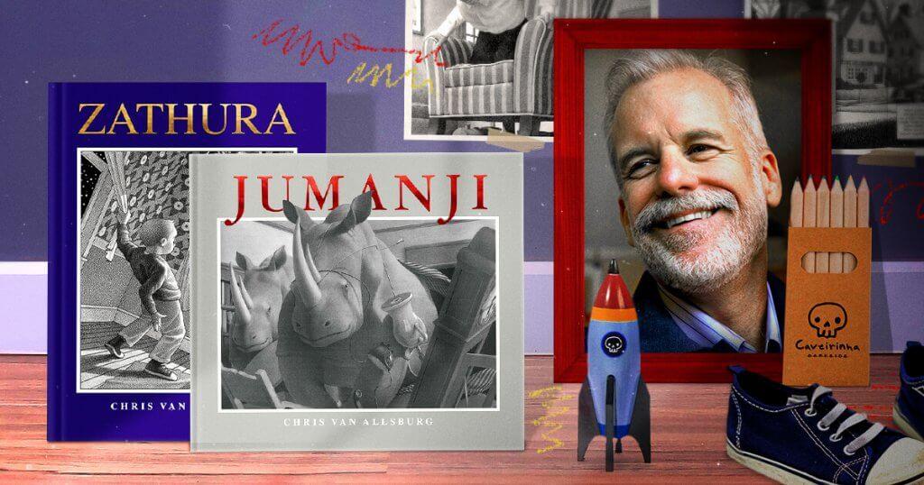 Chris Van Allsburg, autor de Jumanji e Zathura, lançados pela DarkSide Books