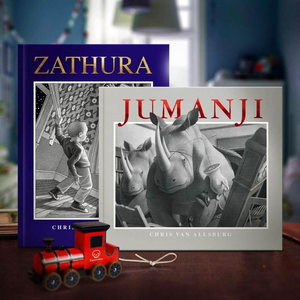 Jumanji e Zathura, DarkSide Books