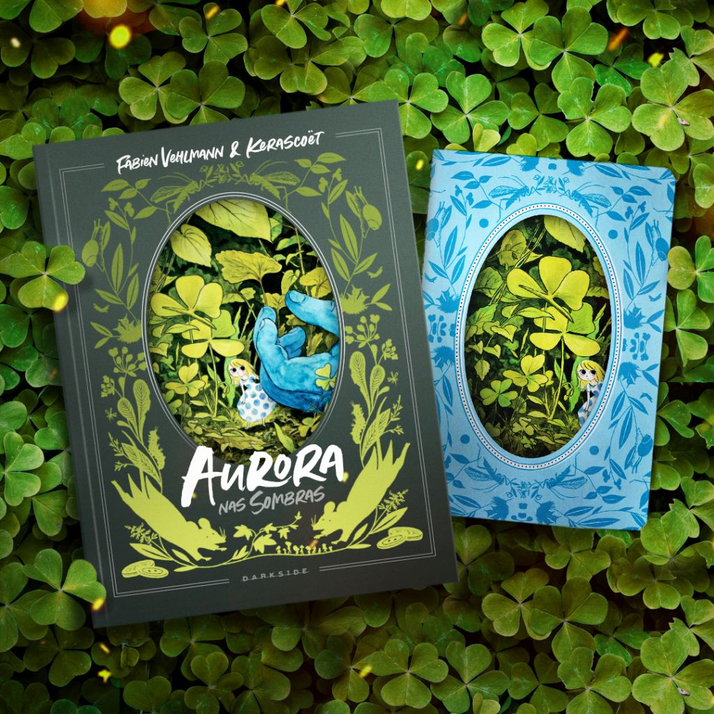 Aurora nas Sombras, lançamento DarkSide Graphic Novel, da DarkSide Books