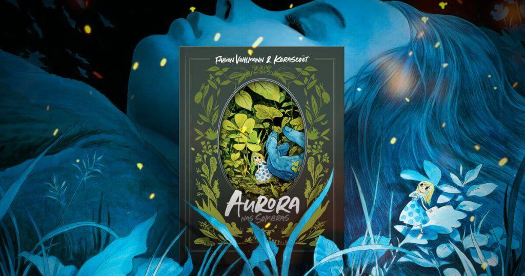 Aurora nas Sombras, lançamento DarkSide Books