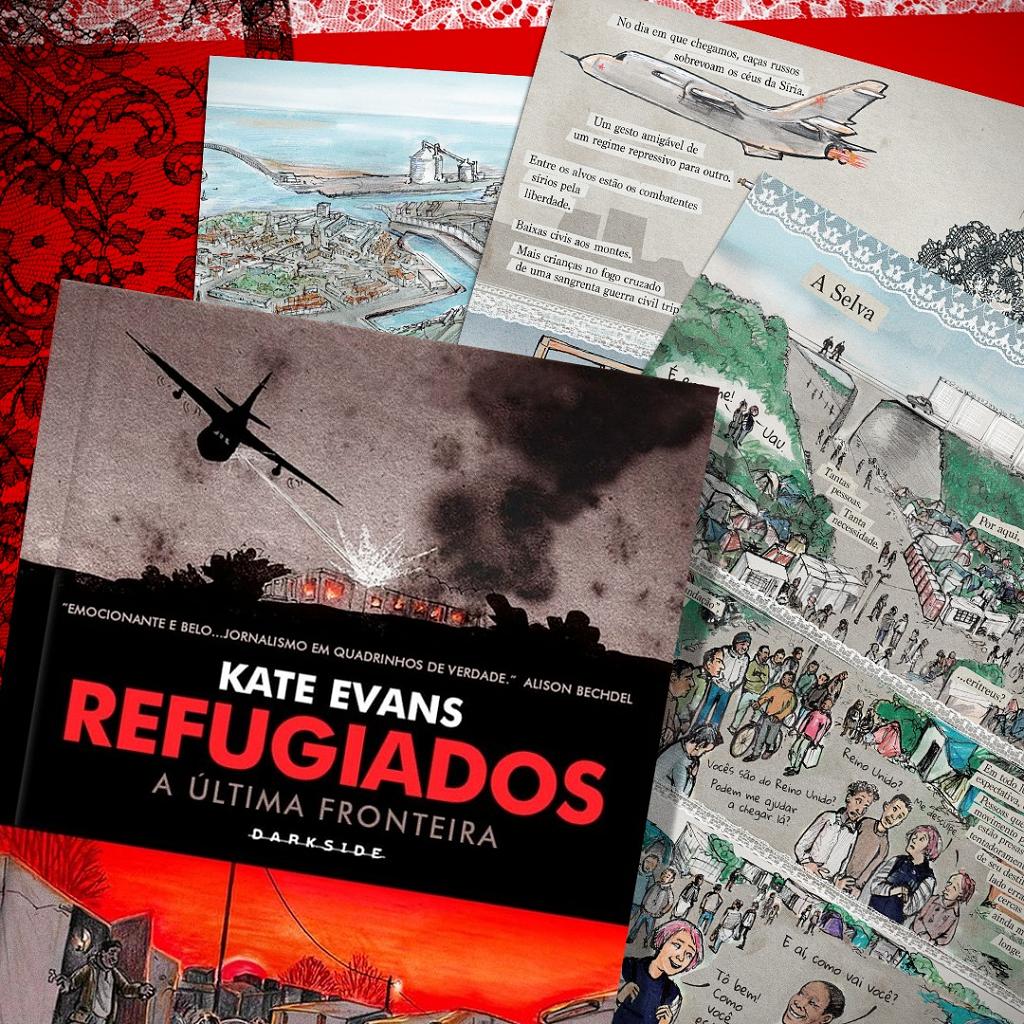 Dia Mundial do Refugiado: Refugiados, de Kate Evans