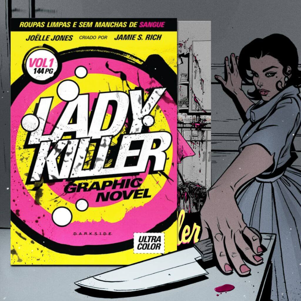 Lady Killer, de Joëlle Jones, lançamento DarkSide Books