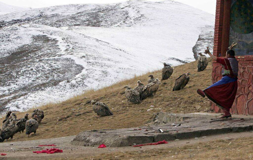 Os tibetanos e sua relação com a morte