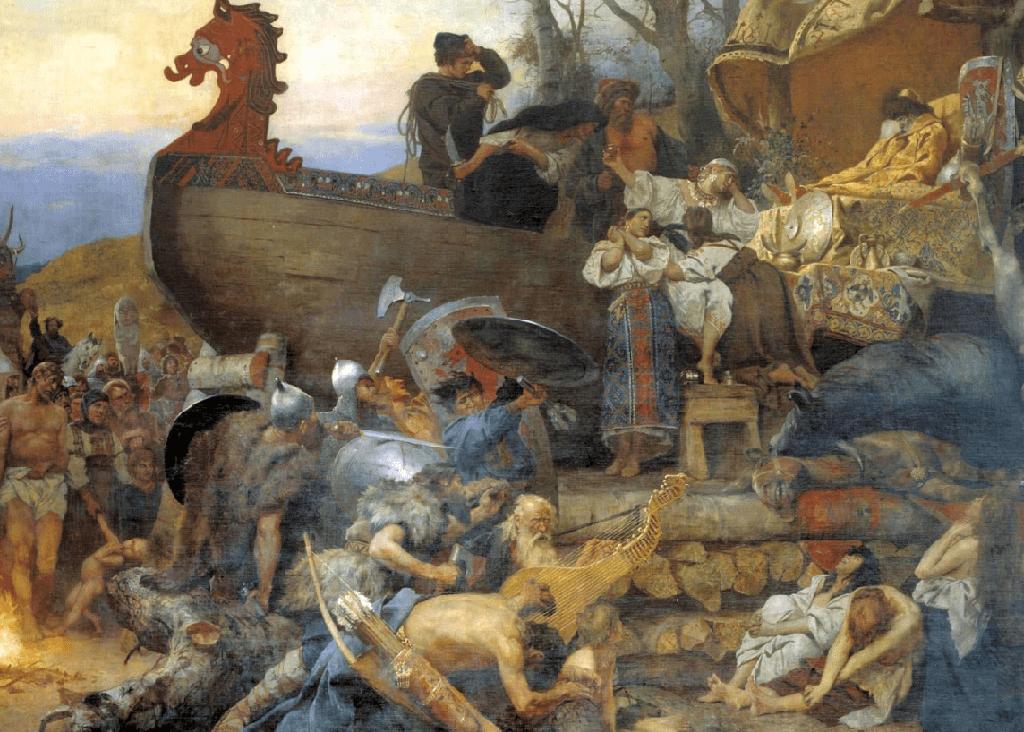 Os vikings e sua relação com a morte