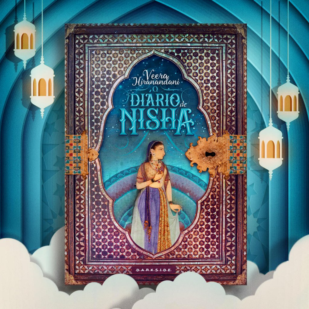 O Diário de Nisha, lançamento da linha DarkLove, da DarkSide Books