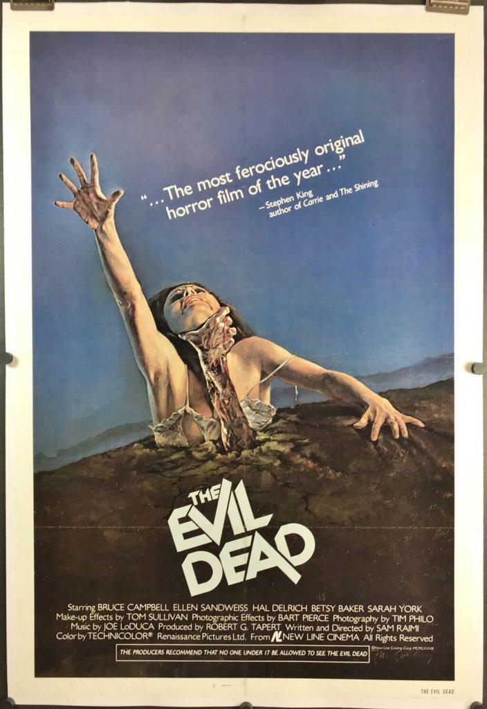 Evil Dead, pôster original