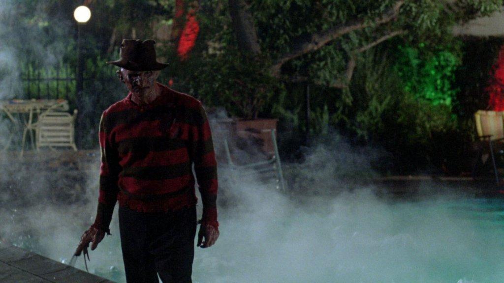 As cores clássicas da camisa de Freddy, em A Hora do Pesadelo
