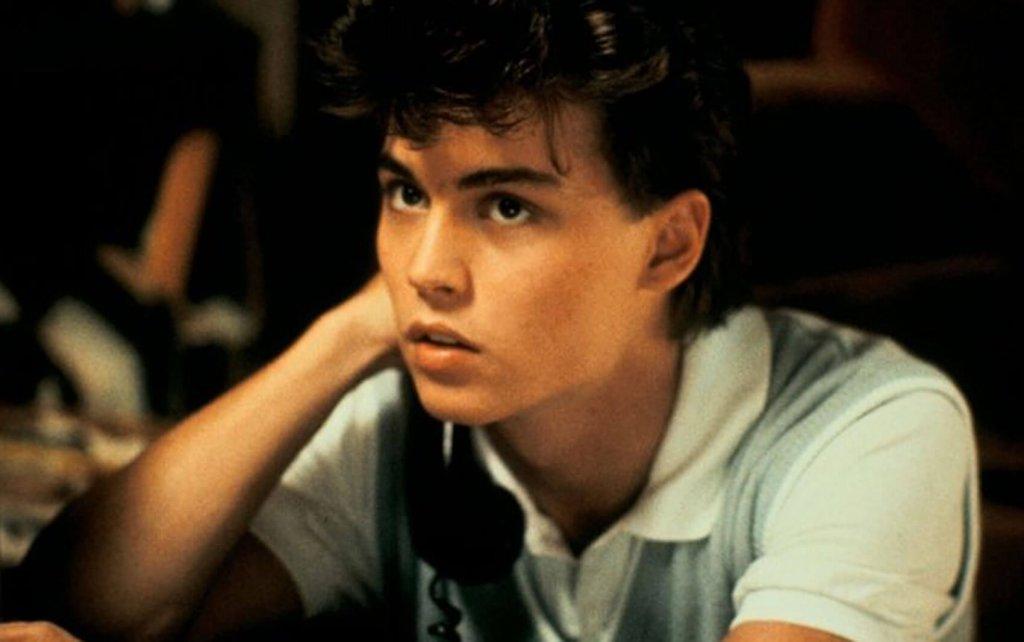 A Hora do Pesadelo foi o filme de estreia de Johnny Depp