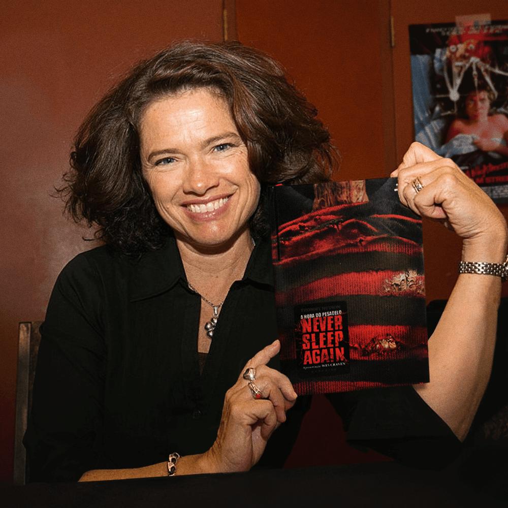 Heather Langenkamp, que interpretou Nancy Thompson em A Hora do Pesadelo
