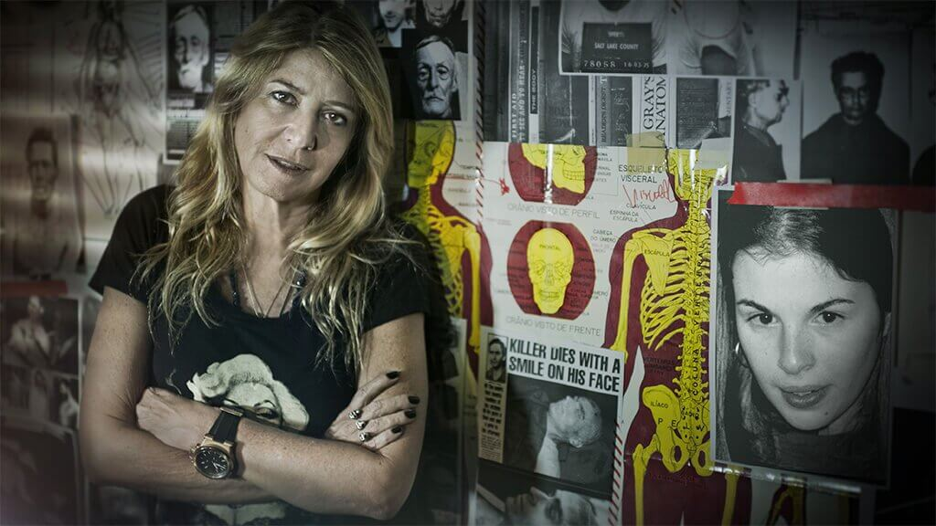 Ilana Casoy, autora de Casos de Família, lançado pela DarkSide Books
