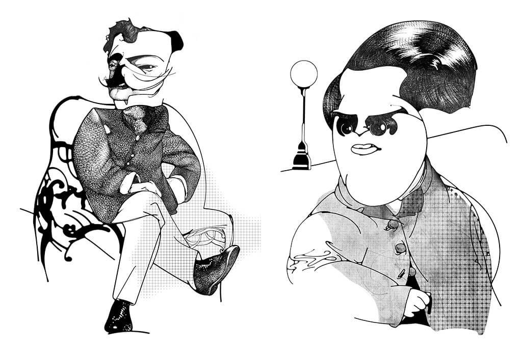 Ilustrações de Medo Imortal