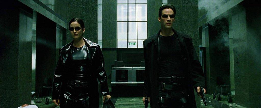 Cena do filme Matrix
