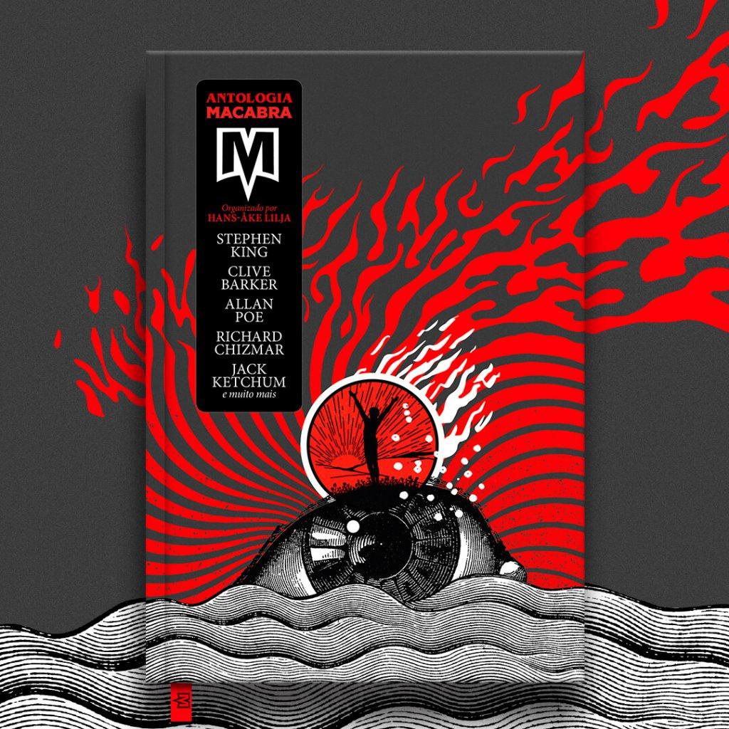 Capa do livro Antologia Macabra